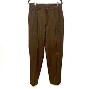 REI brown polyester 5 pocket casual pants size 32